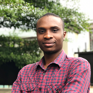 Daniel Igwe, Client Services Officer